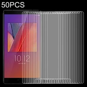 50 stuks 9H 2.5D getemperd glas Film voor Lenovo ZUK rand