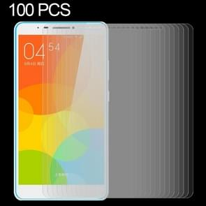 100 PCS for Lenovo TAB3 7 Plus / 7703X 0.3mm 9H Surface Hardness Explosion-proof Tempered Glass Film