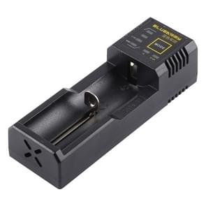 N1 PLUS Micro USB Smart Battery Charger met indicatielampje voor 26650  18650 18500  14500  16340(RCR123) IMR / Li-on batterij of AA  AAA  AAAA  C Ni-MH / Ni-Cd accu