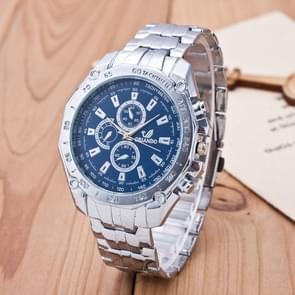 3 Pack Men'S Business Strip Watch Quartz Watch (Colour: Blue)