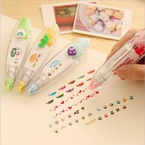 4 Pack Creative Push Lace Correction Tape Random Color Delivery