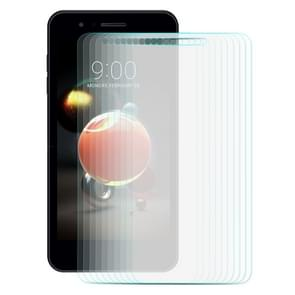 10 PCS ENKAY Hat-Prince for LG K8 (2018) 0.26mm 9H Hardness 2.5D Curved Edge Tempered Glass Screen Film