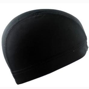 Hip Hop Dome Cap pruik elastische Cap (zwart)
