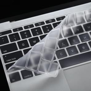 Voor MacBook Pro 16 inch A2141 transparante en stofdichte TPU Laptop Toetsenbord beschermende film