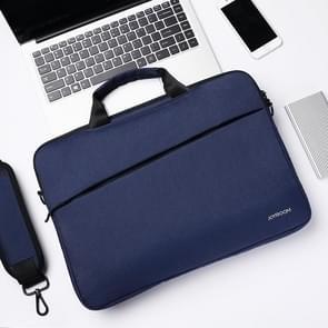 JOYROOM JR-BP562 Elite Series 15 6 inch Draagbare eenvoudige zakelijke laptoptas met afneembare schouderband (blauw)
