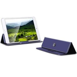 Multi-function Portable Ultrathin Foldable Heat Dissipation Mobile Phone Desktop Holder Laptop Stand (Dark Blue)