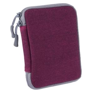 MacBook / Lenovo / Asus / Acer / Dell of andere laptop universele Sleeve voor Notebook Power Adapter Oplader (paars)