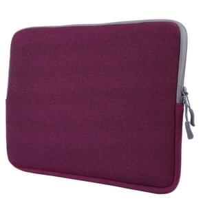 MacBook Pro 13.3 inch met Touch Bar universele Laptoptas Notebook Sleeve (paars)
