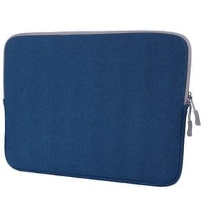 MacBook Pro 15.4 inch universele Laptoptas Notebook Sleeve (blauw)