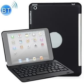 F1 For iPad mini 3 / 2 / 1 Laptop Version Plastic Bluetooth Keyboard Protective Cover (Black)