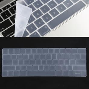 Keyboard Protector TPU Film voor MacBook Pro 13 / 15 met Touch Bar (A1706 / A1989 / A1707 / A1990)(White)