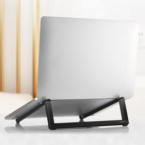 ROCK Mini Ultrathin Portable Foldable Design Laptop Bracket Stand(Black)