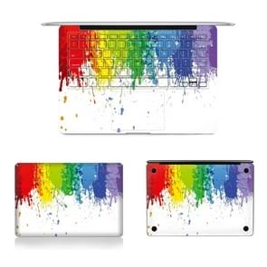 3 in 1 MB-FB15 (236) volledige Top beschermlaag  Full Keyboard Protector-Film + bodem filmset voor Macbook Pro Retina 13 3 inch A1502 (2013-2015) / A1425 (2012-2013)  ons versie