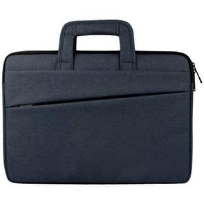 Universele 14 inch Laptoptas met Oxford stof en handvat voor MacBook  Samsung  Lenovo  Sony  Dell  Chuwi  Asus  HP (marine blauw)