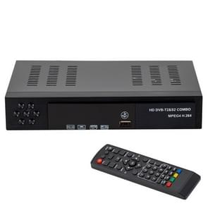 HD 1080P Digital DVB-T2&DVB-S2 Receiver Smart TV BOX with Remote Controller for Singapore / Africa Ghana