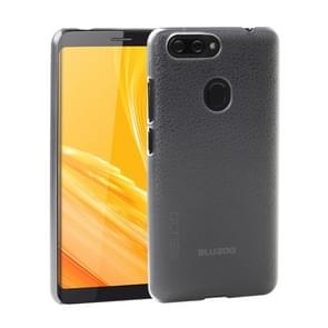 OCUBE Litchi Texture PC Protective Back Case for BLUBOO D6(Transparent)