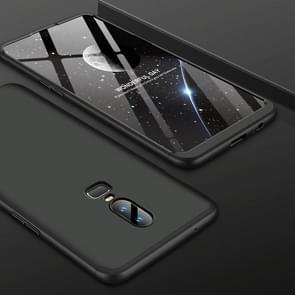GKK PC 360 Degrees Full Coverage Protective Case Back Cover for OnePlus 6 (Black)
