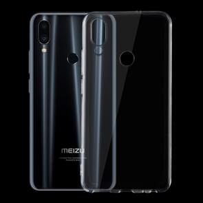 0.75mm Ultrathin Transparent TPU Soft Protective Case for Meizu Note 9