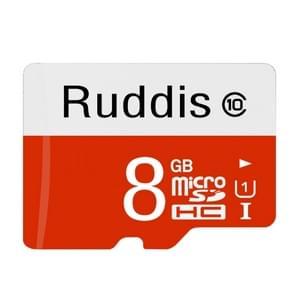 Ruddis 8GB High Speed Class 10 TF/Micro SDXC UHS-1(U1) Memory Card