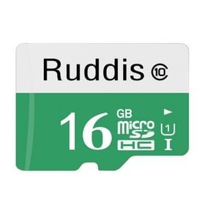 Ruddis 16GB High Speed Class 10 TF/Micro SDXC UHS-1(U1) Memory Card