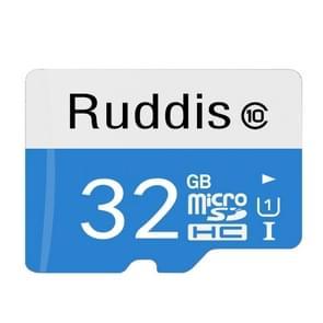 Ruddis 32GB High Speed Class 10 TF/Micro SDXC UHS-1(U1) Memory Card