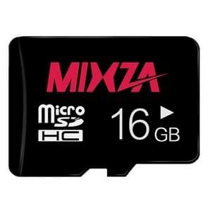 MIXZA 16GB High Speed Class10 Black TF(Micro SD) Memory Card