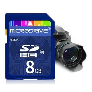 Mircodrive 8GB High Speed Class 10 SD Memory Card for All Digital Devices with SD Card Slot