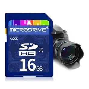 Mircodrive 16GB High Speed Class 10 SD geheugenkaart voor alle digitale apparaten met SD-kaart Slot