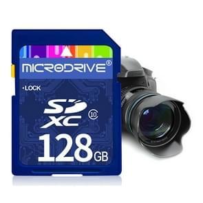 Mircodrive 128GB High Speed Class 10 SD geheugenkaart voor alle digitale apparaten met SD-kaart Slot