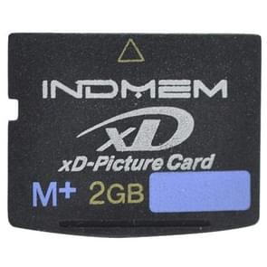 INDMEM 2GB M+ XD-Picture Card for Olympus Fuji Old Digital Camera