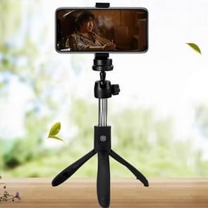 K05 Bluetooth 4.0 Mobile Phone Adjustable All-purpose Bluetooth Selfie Stick Self-timer Pole Tripod (Black)