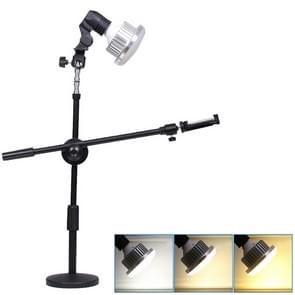 Tricolor Light Supplement Photography Micro-Course Video Recording Mobile Phone Overhead Bracket