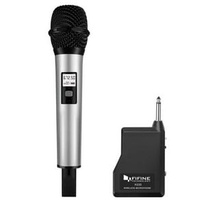 FIFINE K035 U Segment Selectable 20-channel Wireless Handheld Microphone, For Notebook, PC, Speaker, Headphone, iPad, iPhone, Galaxy, Huawei, Xiaomi, LG, HTC and Other Smart Phones