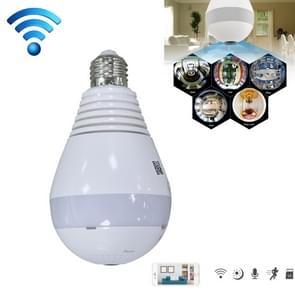 DJ-DP266 E27 Light Bulb 360 Degrees 2.0MP Smart Wireless Wifi IP Camera, Support TF Card (128GB Max), Infrared Night Version