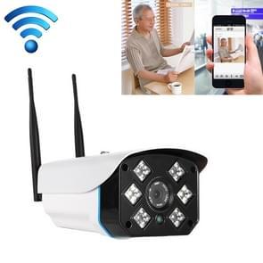 J-06 indoor en outdoor 1.0 MP draadloze WiFi IP IR camera  ondersteuning infrarood nachtzicht/bewegingsdetectie/TF-kaart (64GB Max)  IR afstand: 50m