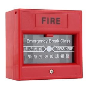 Noodstop glas brand alarm deur release Exit-knop