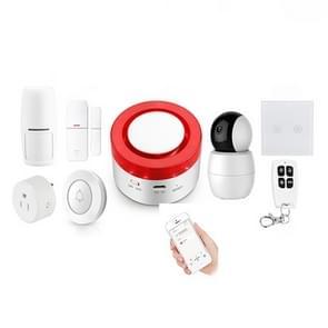 DY-H1 Smart gateway + waarschuwing Signaalkoppeling WiFi alarm systeem set