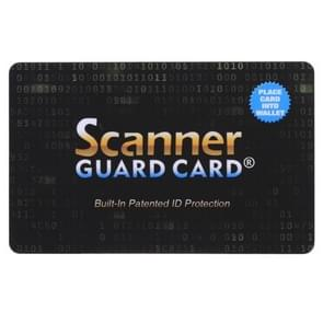 Scanner Guard Card RFID Blocking Card, Built-in Patented ID Protection