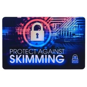 Protect Against Skimming RFID Blocking Card