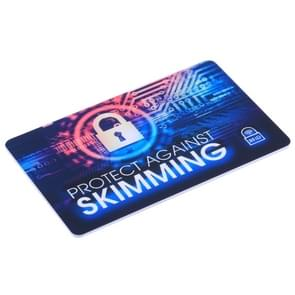 100 PCS Protect Against Skimming RFID Blocking Card