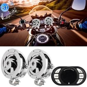 4 inch Motorcycle Waterproof Treble Surround Bluetooth Speaker Player with Colorful Light