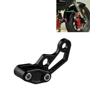 MB-EA073 Motorcycle Modification Accessories Universal Aluminum Alloy Hose Clamp (Black)