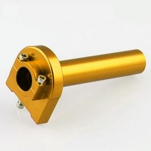 MB-MH004-BK Motorcycle Modification Accessories Universal Aluminum Throttle Handle (Gold)