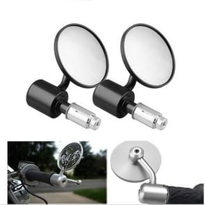 MB-MR009 Modified Motorcycle Rearview Reflective Mirror Rearview Side Mirrors (Black)