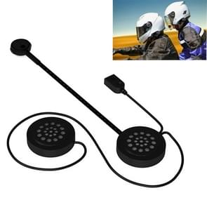 MH02 Bluetooth V 4.0 helm headset 5V voor motor rijden met anti-interferentie microfoon (zwart)