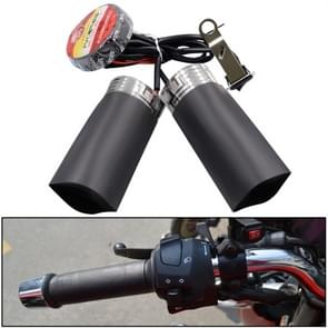 CS-054B1 Third Generation Motorcycle Modified Electric Heating Hand Cover Heated Grip Handlebar