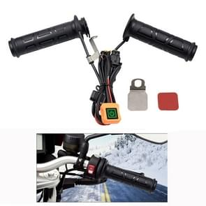 ZH-983A1 Motorcycle Scooter Smart Three Gear Temperature Control Electric Hand Grip Cover Heated Grip Handlebar
