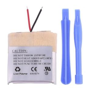 Rechargeable Replacement Li-polymer Battery for iPod shuffle 2