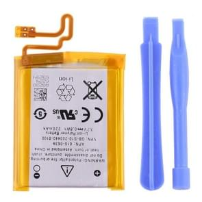 3.7V 220mAh Rechargeable Replacement Li-polymer Battery for iPod nano 7