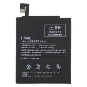 4000mAh Li-Polymer Battery BM46 for Xiaomi Redmi Note 3
